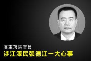 陈思敏:广东落马官员涉江泽民张德江一大心事