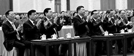 谢天奇:习江斗升级常委对决 四元老集中露面