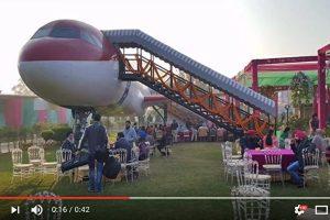 印度飞机改装成豪华餐厅 有美食无噪音(视频)