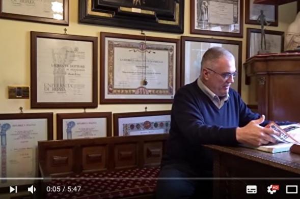 意大利7旬男子获15个大学学位 世界第一人(视频)