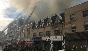 多倫多中區六級大火終於熄滅  燒燬百年建筑