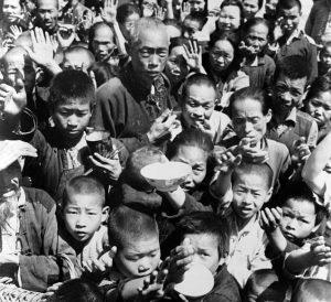谢天奇:揭秘大饥荒年代中共高官的特供 民谣纷飞怒骂毛泽东