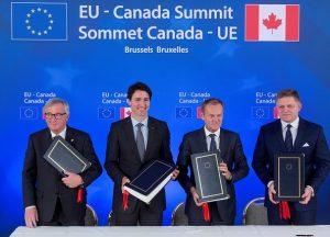 欧议会核准与加贸易协议  关税种类将减98%