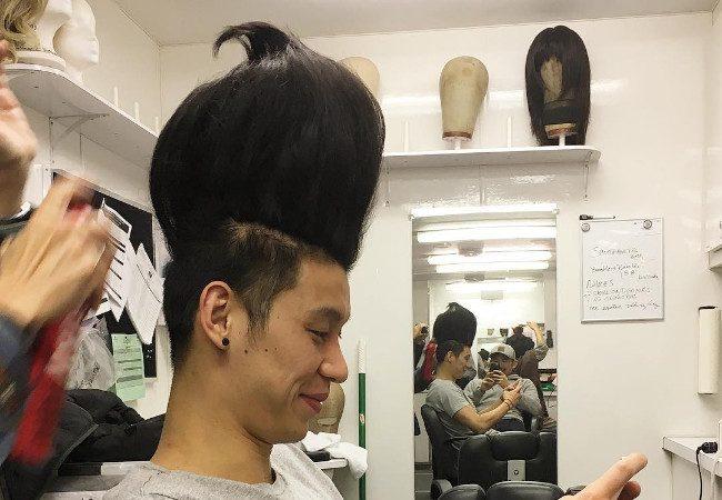 林書豪的髮型  變的越來越誇張!