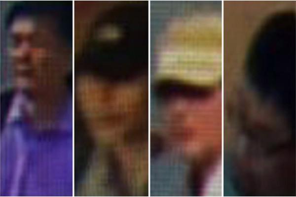 金正男遇刺案獲重大突破 4名男嫌樣貌曝光