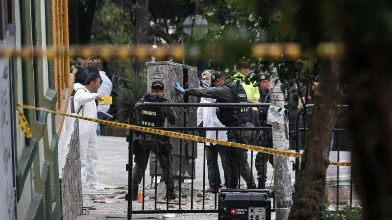 哥倫比亞首都爆炸 建築被震碎1死逾30人傷(視頻)