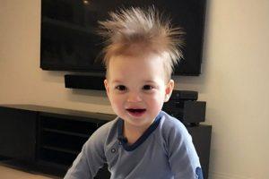 伊萬卡曬幼子照 網友驚呼: 頭髮真像川普