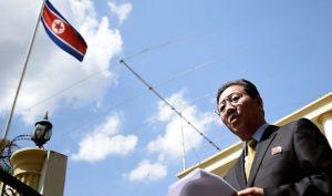 朝鲜大使拒认死者是金正男 称验DNA可笑