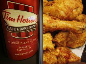 加咖啡店Tim Hortons母公司收购popeye炸鸡店