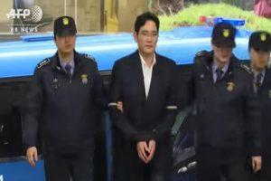 三星少主李在鎔被關 沒有手機、電腦可獨會律師