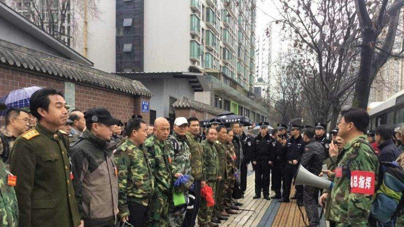 逾千老兵擬再圍軍委大樓 中共恐慌抓組織者