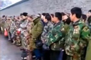 中共全面封锁万名老兵请愿    现场视频流出(视频)