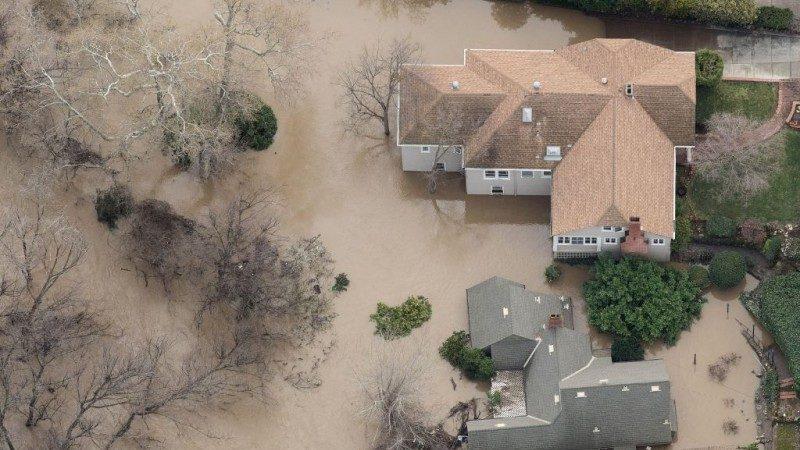 """美加州洪水淹圣荷西 华人""""望洋兴叹"""""""