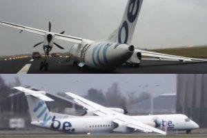 強風中硬降 英國客機「斷腿」機腹擦地著陸 乘客萬幸無傷(視頻)