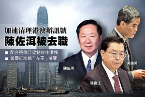 臧山:梁振英去政協 北京自廢武功