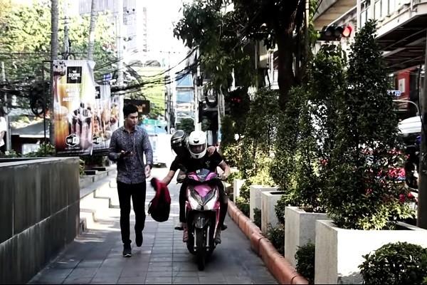 泰國機車搶匪猖狂,短片提醒民眾免讓歹徒有可趁之機