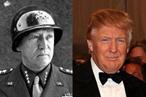 川普是巴顿将军转世?网友评:形似更神似 个性简直一模一样