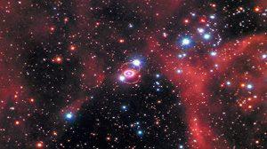 400年来最亮 超新星爆炸 形成瑰丽火环