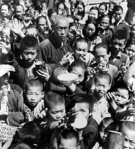 謝天奇:大飢荒內幕中共禁開倉放糧 出動軍隊鎮壓飢民