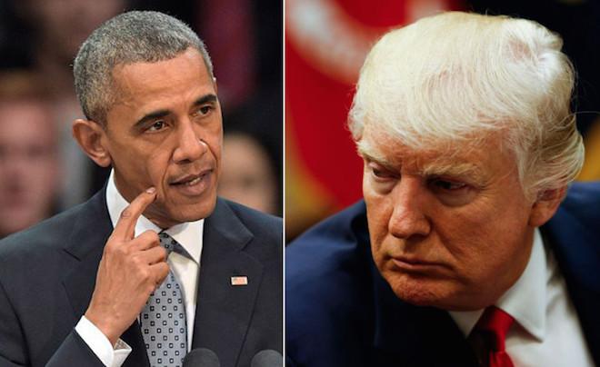 白宮洩密與抗議活動幕後有黑手?川普:是奧巴馬