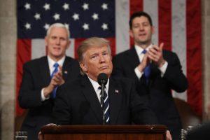 川普首次国会汇报演讲 9大重点回顾