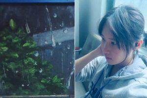 福建16歲女生酷似劉亦菲 黑板畫美到眩目