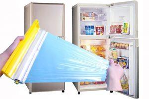 她用保鲜膜包住冰箱,几天后奇迹出现了!以前从来不知道可以这样做!超实用