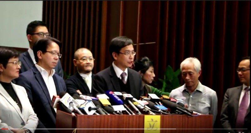 港26议员致函俞正声 反对梁振英任政协