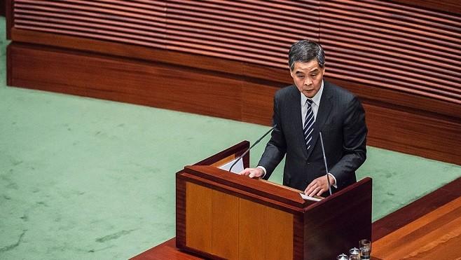香港26议员联署 反对梁振英政协任职