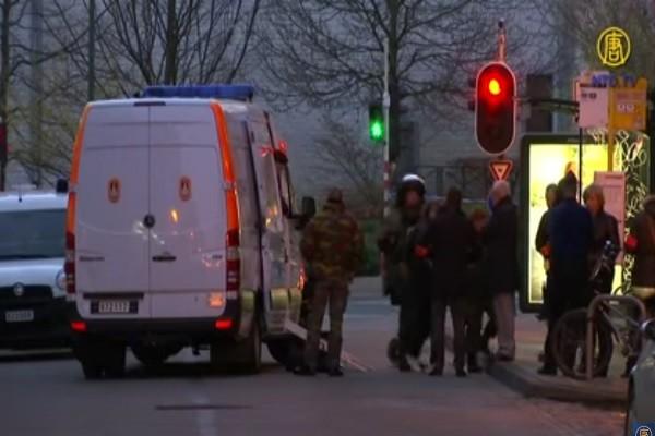 男载瓦斯桶闯红灯 遭比利时警拦下并逮捕