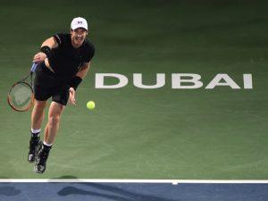 杜拜網球賽冠軍 莫瑞捧回生涯第45冠