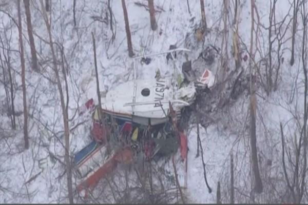 日防災直升機冬訓墜落山區 機上9人全數罹難