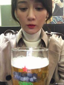 放手不再留戀!陳喬恩和啤酒說再見