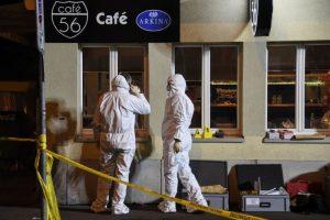 瑞士咖啡厅遭乱枪扫射 2枪手杀2伤1逃窜