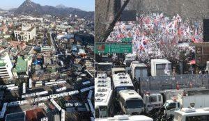 朴槿惠彈劾案 8法官一致贊成 民眾爆衝突2死1命危(視頻)