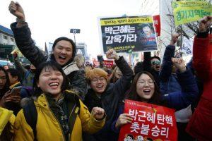 朴槿惠被彈劾  陸網友:「這在天朝不敢想像」