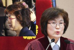 朴槿惠弹劾案太紧张!代院长顶小红发卷出现 网友心酸