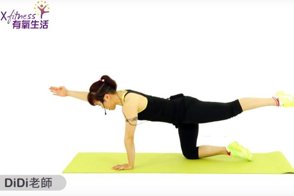 每天3分鐘核心訓練 腰瘦一大圈(視頻)