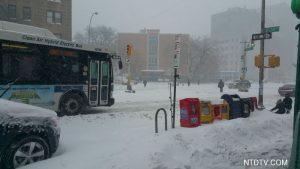 大纽约地区暴风雪信息(即时更新)