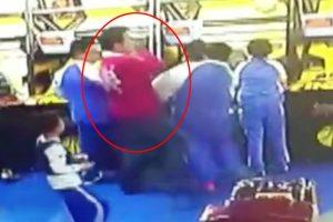 深圳孩童打架 家長出手 狂毆小童濺血! 看傻美國日本爸媽