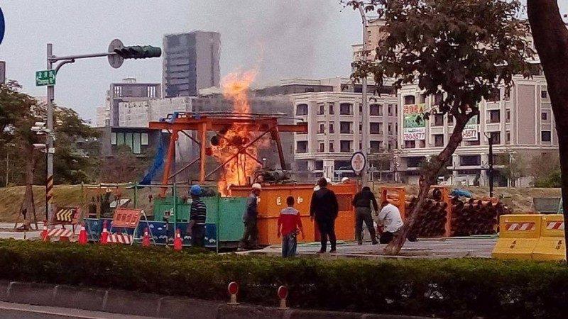 挖破中油管线濒爆炸点 高市险酿二度气爆