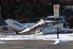 空中交通壅塞!加拿大兩架小飛機相撞一死一傷