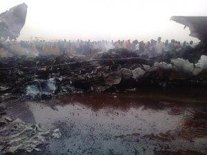 奇跡!南蘇丹客機墜毀 機上44人全部生還
