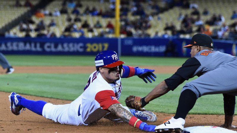 棒球经典赛4强首战  波多黎各再见牺牲打4:3撃败荷兰(视频)