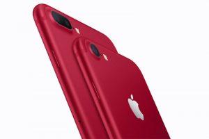 紅色iPhone 7閃亮登場 起價749 兩款可選