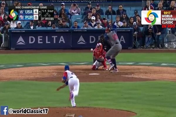 棒球經典賽冠軍爭奪戰 美國8比0撃敗波多黎各 (直播回放)