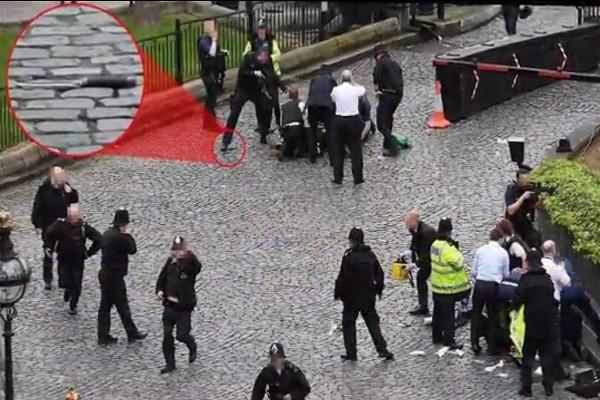 伦敦恐袭 目击者:歹徒40多岁亚洲男子