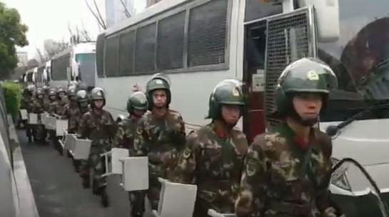 世盃預賽中韓大戰上演  長沙如臨大敵(視頻)