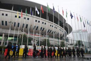 中韩球赛奏韩国歌遭嘘 国际足联或处罚