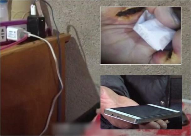 甘肅婦睡覺緊握手機充電 疑漏電身亡